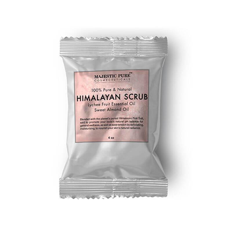free himalayan salt body scrub