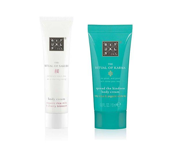 ritual body cream free samples