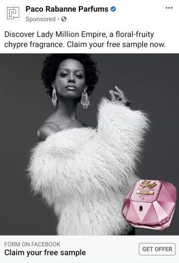 free lady million empire perfume