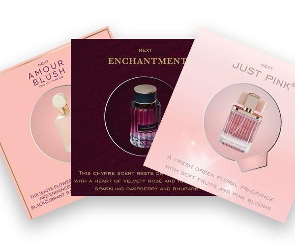 free next fragrance samples